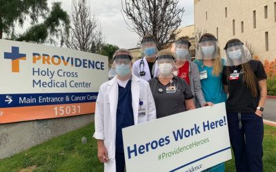 200 Faceshields Delivered in Mission Hills, CA