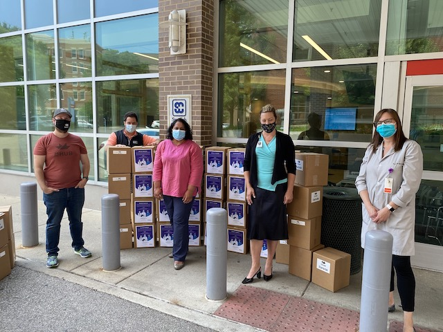 1,000 Faceshields Delivered